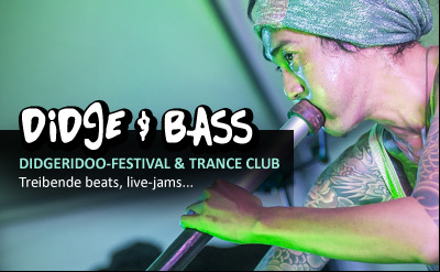 Didge and Bass - Didgeridoo Festival and Trance Club